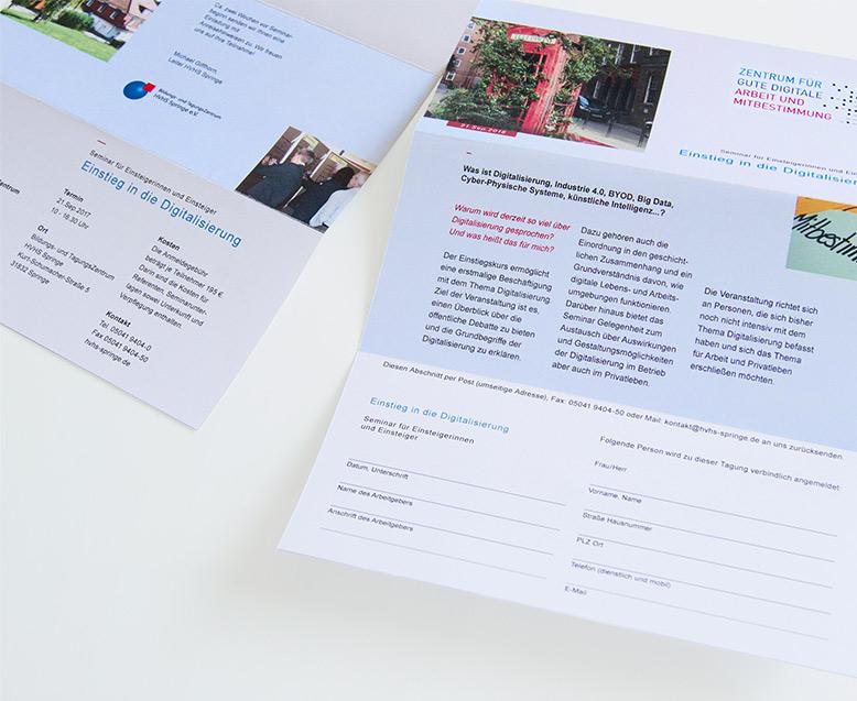 Corporate Design, Branding Flyer