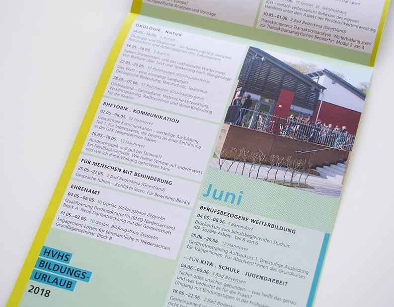 Programmseite Bildungsurlaub 2018