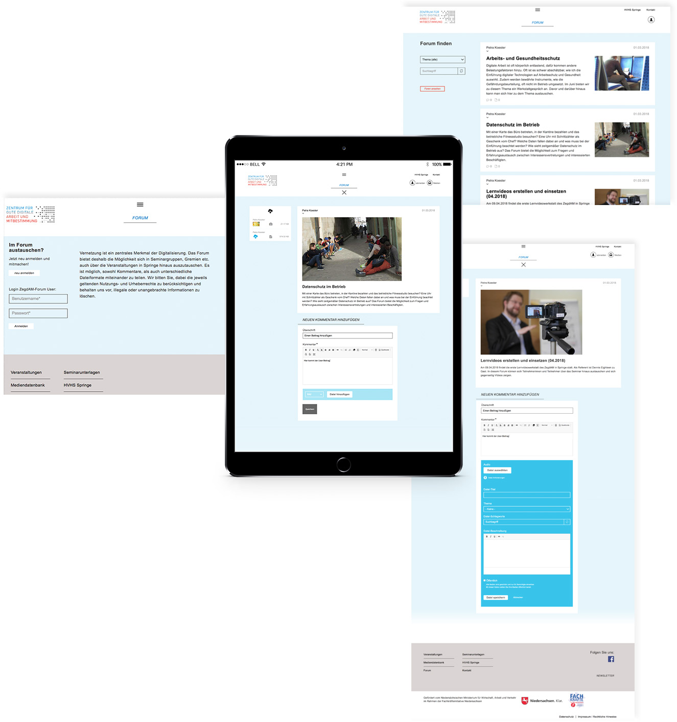 Branding, Corporate Design, responsive Webdesign
