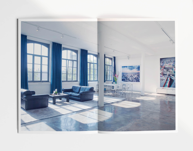 Helmkehof, Corporate Design, Branding, Loft New York