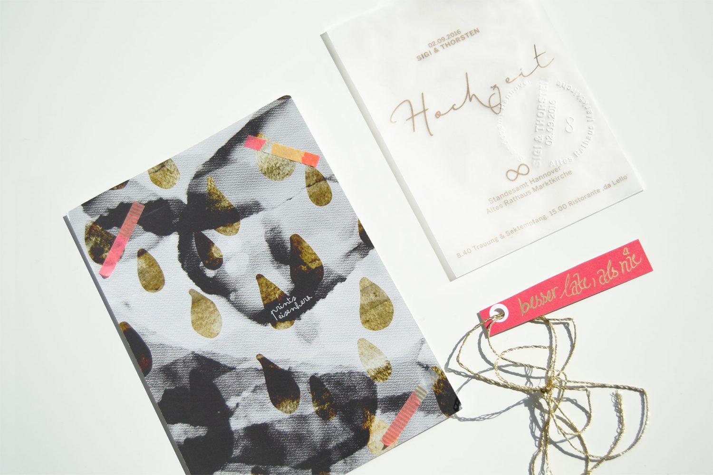 Hochzeitskarte Gestaltung einer Einladung Design
