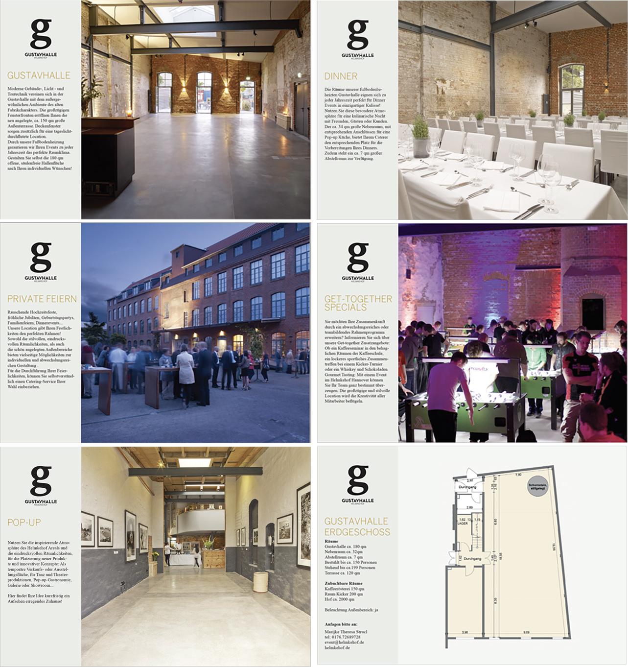 Branding, Corporate Design, Gustavhalle,