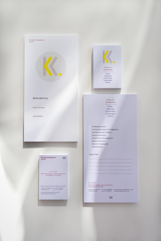 Praxis Branding, Corporate Design und Website